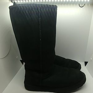 UGG boots tall black uggs size 7 #5185